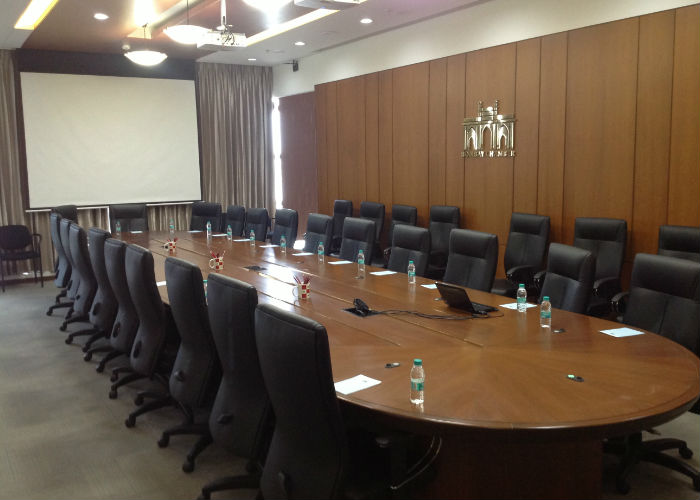 State of the art Boardroom at Bombay Chamber's Dadar office